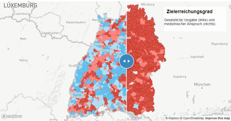 SWR-Datenjournalismus-Projekt Hilfe im Notfall